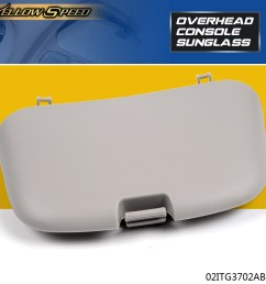 details about for dodge ram 1500 2500 3500 99 02 overhead console sunglass holder lid [ 1000 x 1000 Pixel ]