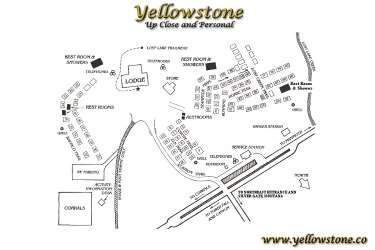 yellowstone lodge roosevelt lodging park national map cabins lodges area cataclysmic ic earth close go