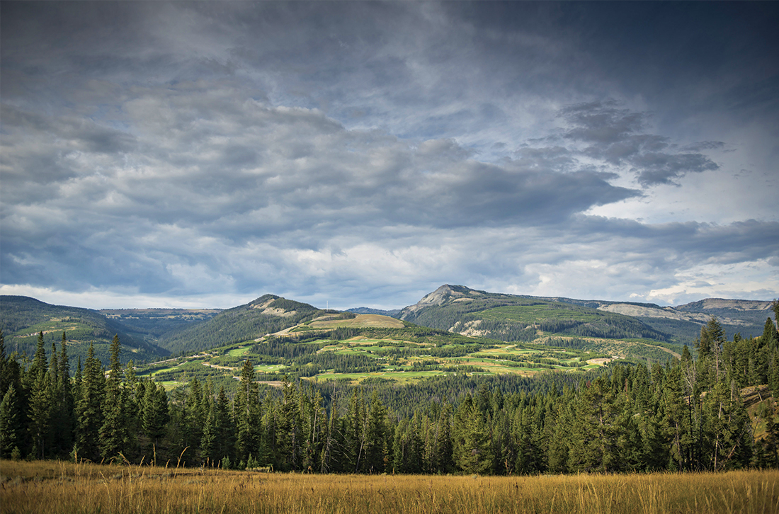 Yellowstone Club is nestled in the Northern Rocky Mountains.