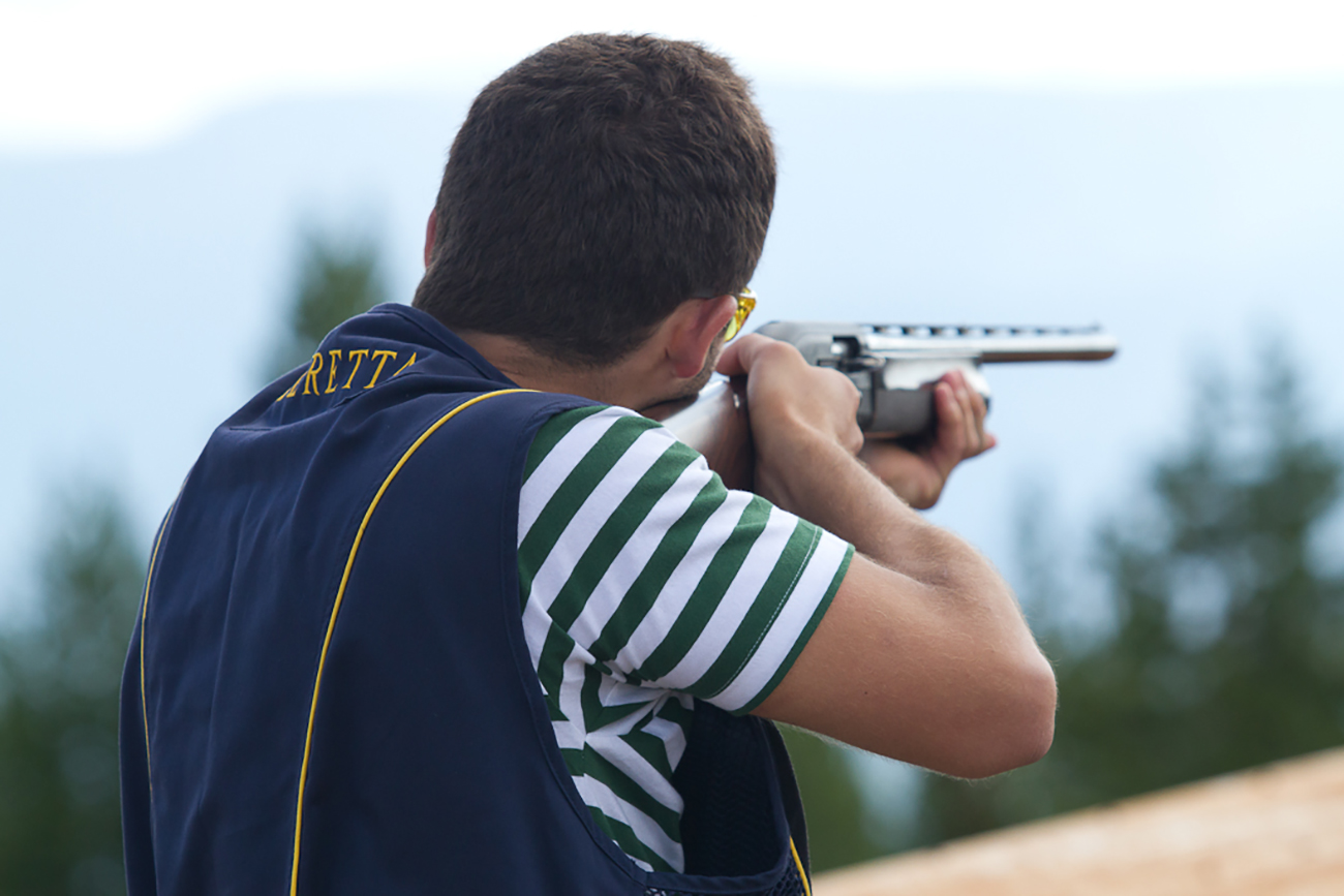 Try a trapshooting session on Eglise Mountain.