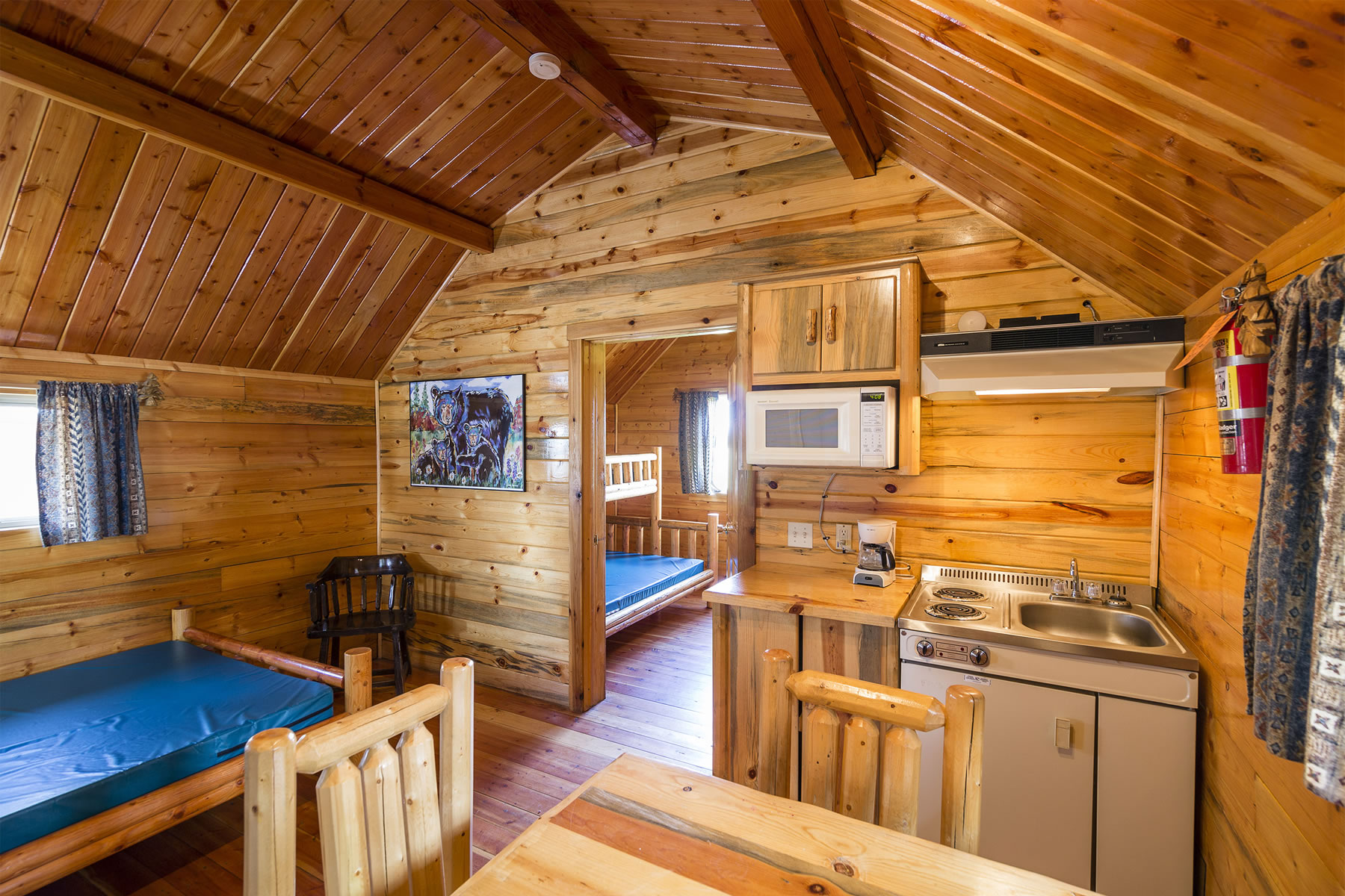 Cabins For All Your Camping Needs  Yellowstone ParkWest Gate KOA