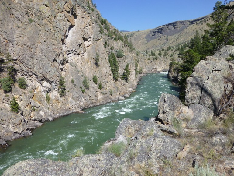 Yellowstone gorge