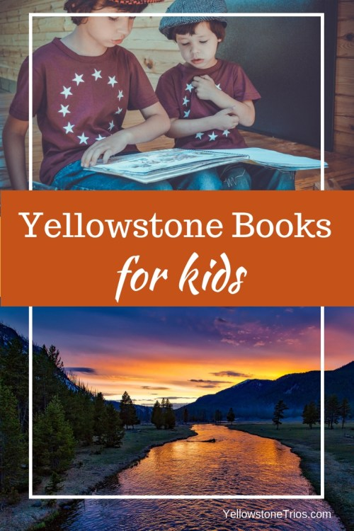What are the best books about Yellowstone for kids, tweens, and teens? We show you the best Yellowstone guide books, non-fiction books, and books set in Yellowstone to prep your kid for their Yellowstone Trip. #kidsbooks #yellowstone #yellowstonevacation Yellowstone With Kids | Learning About Yellowstone | Books Set in Yellowstone