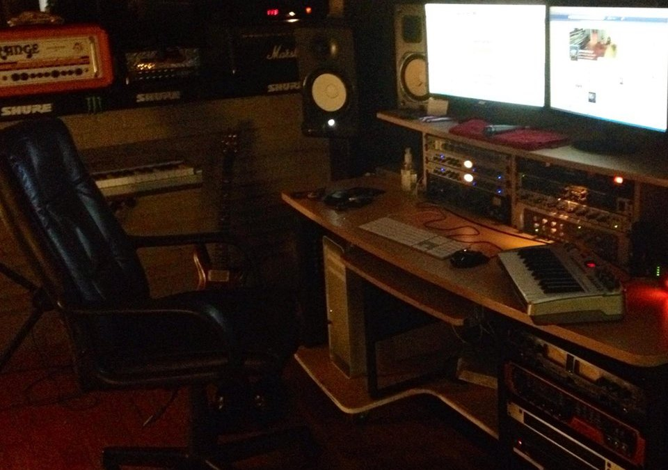 Recording at Harbour Red Studios