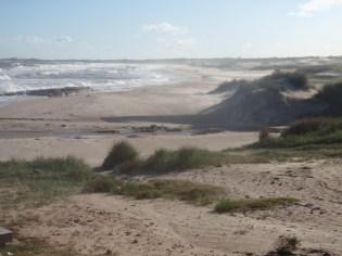 The northern Uruguayan coast