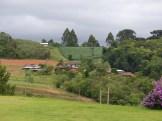 The landscape as we turn west towards Iguazu and head inland