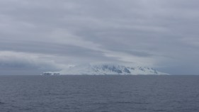 Then our first bit of Antarctic land