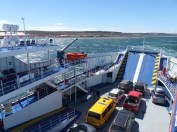 The Yellow Van leaves Tierra del Fuego… backwards!