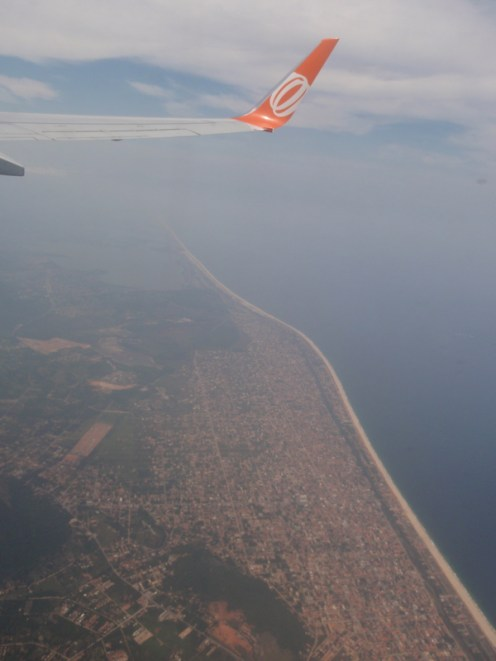 Leaving the tropical Atlantic coast behind and heading back inland to the heart of the continent...