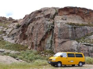 A nice roadside crag at La Ola...