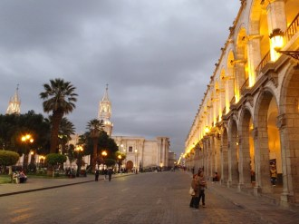 Arequipa has one of the most elegant main squares we have seen