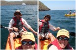 A trip out in the kayaks