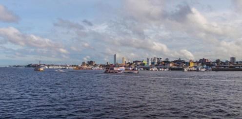 Coming into Manaus