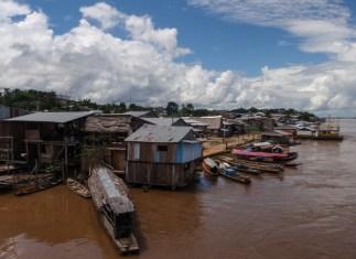 We boarded the Rio Amazonas at Nauta