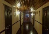 The bedroom corridor
