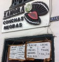It was a little surprising to find a shop specialising in black oyster ceviche here, as black oysters are a speciality of the north coast of Peru