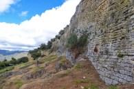 With impressive walls