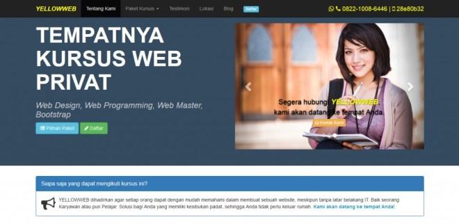 kursus-web-privat-cikarang