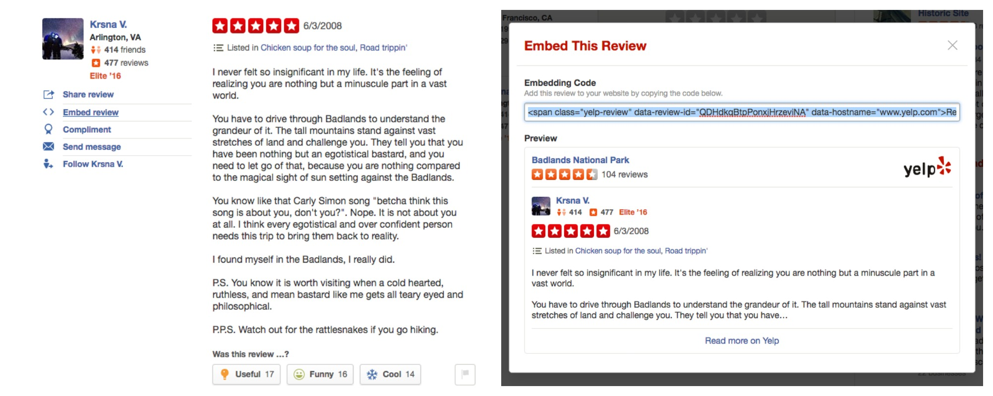 New Embed Feature Makes Sharing Yelp Reviews A Breeze