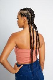 stitch braid cornrows 3-10 braids