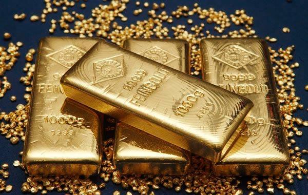 سعر الذهب ينحفض اكثر من 1% بسبب الاقتصاد الامريكي