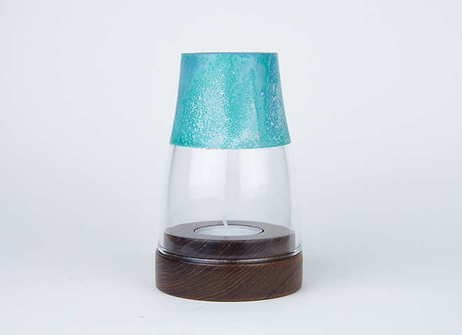Lantern Candle Holder Patina