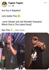 Comparing Jovin's Okude To Jah Wondah's Asawana Is Like Comparing Nokia Torch To IPhone – Yentown Lad Tells Blogger