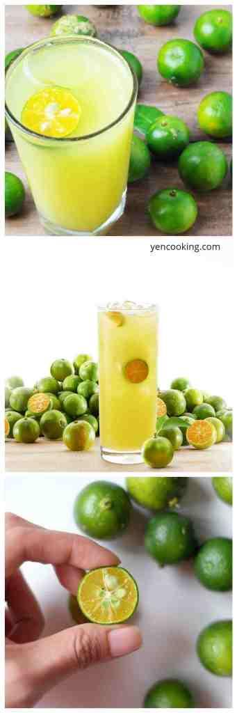 Calamansi Plum Limau Asam Boi Sour Lime Concentrated Fruit Juice