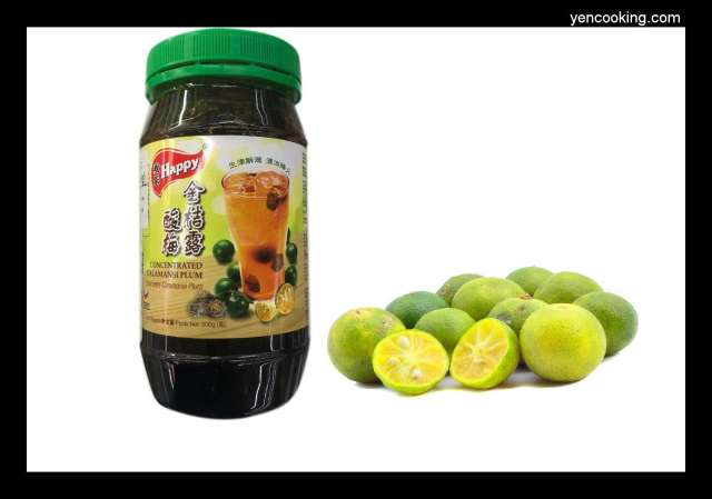Malaysia Happy Calamansi Plum Limau Asam Boi Sour Lime Concentrated Fruit Juice