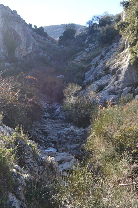 Cauce seco del río Bailón