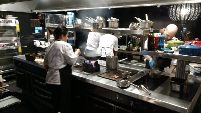Show cooking en Restaurante Gloria de Gijón