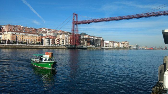 Transporte en bote desde Portugalete a Getxo