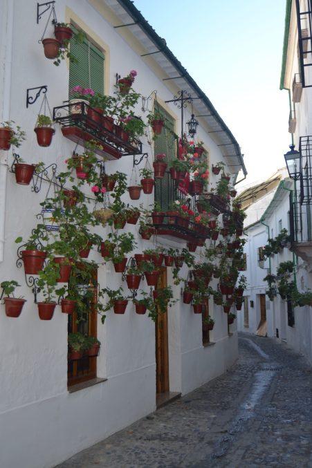 Calle del Barrio la Villa de Priego de Córdoba