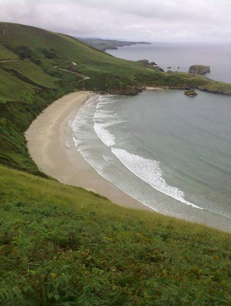 Playa de Torimbia, Llanes