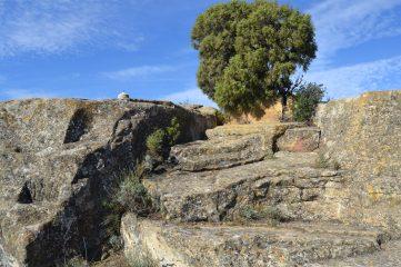 Escaleras del Santuario Celtíbero jarrero