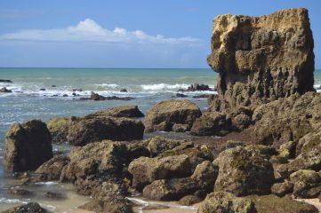 Rocas de la cala de Manuel Lourenzo