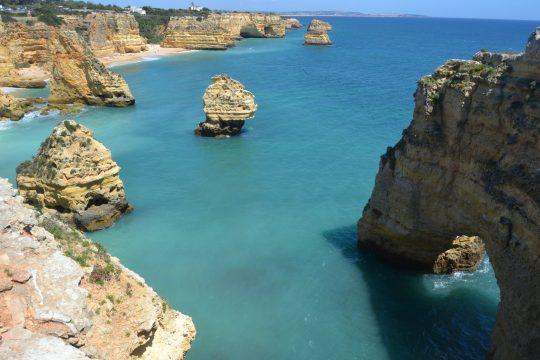 Vista aérea de Praia Marinha
