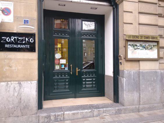 Fachada del Zortziko