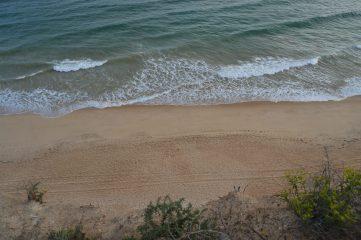 Vista de Praia da Falésia