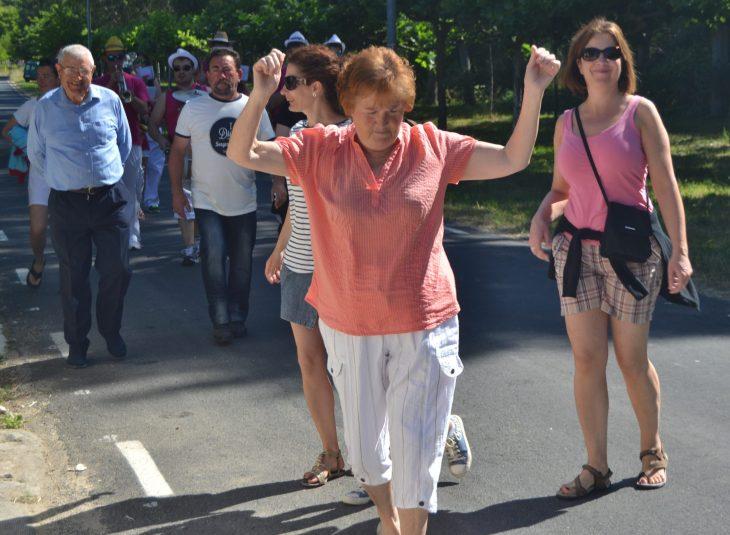 la Fiesta de Andar las casas en Puentedey