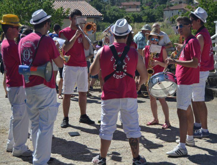 Charanga Coda en La Barcena de Puentedey