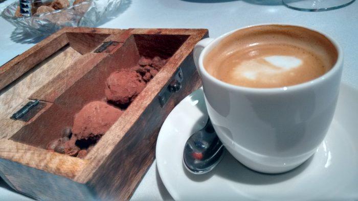 Café y trufas