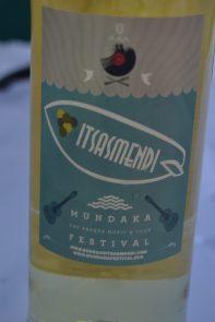 Txakoli Itsasmendi especial Mundaka Festival