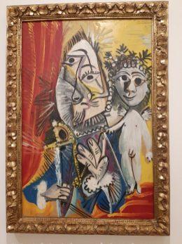 """""""Mosquetero con espada y amorcillo"""" de Picasso"""