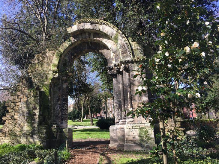 Arco de la portada de la Iglesia de San Isidoro