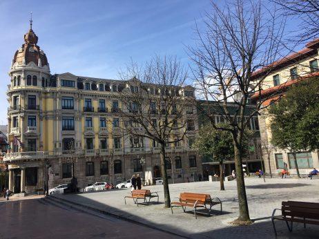 Plaza Porlier de Oviedo