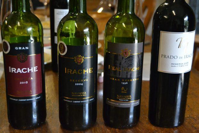 Cata de 4 vinos de Bodegas Irache