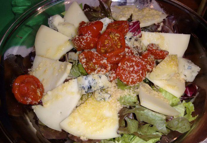 Ensalada de quesos de Pria