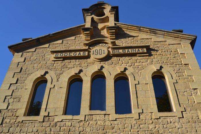 Edificio nuevo de Bodegas Bilbainas