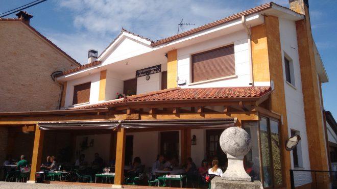 Terraza del Restaurante Ana